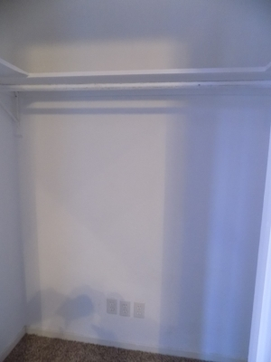 811 B - 3 Bedroom / 1 Bath- Bedrm 3 closet